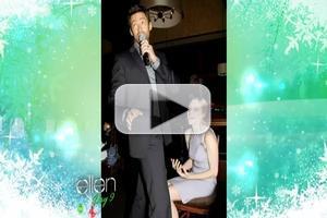 VIDEO: Amanda Seyfried Talks Hugh Jackman's Birthday Lap Dance on ELLEN