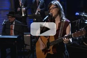 VIDEO: Lisa Loeb Performs Steely Dan's 'Dirty Work' on CONAN