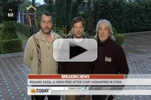 VIDEO: NBC's Richard Engel Talks Escaping Syrian Kidnappers