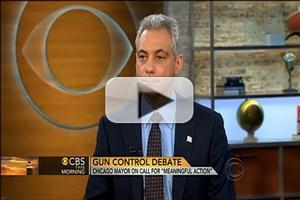 VIDEO: Chicago Mayor Rahm Emanuel Talks Gun Control on CBS THIS MORNING