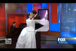 STAGE TUBE: CINDERELLA Stars Laura Osnes and Santino Fontana Perform Live on FOX & FRIENDS!