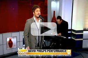 VIDEO: Tenor David Phelps Sings 'Joy to the World' on CBS's THE COUCH