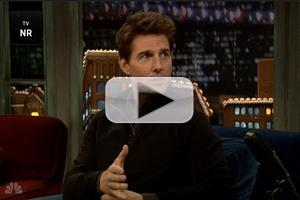 VIDEO: Tom Cruise Talks Holidays, Stunts, & JACK REACHER on LATE NIGHT WITH JIMMY FALLON