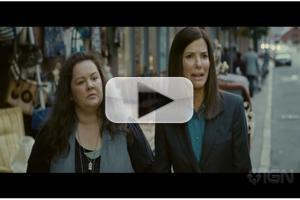 VIDEO: New Trailer for THE HEAT, Starring Sandra Bullock and Melissa McCarthy