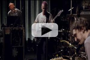 VIDEO: Red Hot Chili Peppers Perform on Crackle's FROM THE BASEMENT