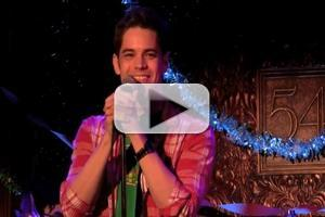 STAGE TUBE: Jeremy Jordan Sings 'I'll Be Home For Christmas' at JOE ICONIS CHRISTMAS SPECTACULAR