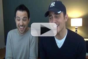 STAGE TUBE: Cheyenne Jackson's Songwriting Series, Episode 1 - Holiday Edition!