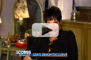 STAGE TUBE: Liza Minnelli on the Set of NBC's SMASH!