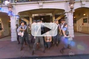STAGE TUBE: Watch the NEWSIES Perform 'Carry the Banner' at Disney's Christmas Day Parade!