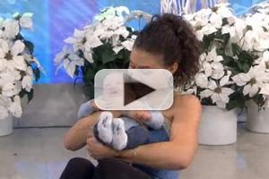 STAGE TUBE: Jenny Powers and Baby George Work Out on TODAY