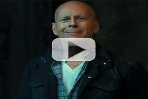VIDEO: First Look - Bruce Willis in TV AD for A GOOD DAY TO DIE HARD