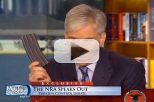 VIDEO: David Gregory Possibly Violates DC Gun Laws on MEET THE PRESS