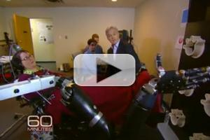 VIDEO: Sneak Peek - Paralyzed Woman Controls Robotic Arm With Mind on CBS's 60 MINUTES
