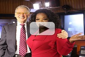 VIDEO: Letterman Talks Leno Rivalry on OPRAH'S NEXT CHAPTER