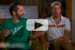 VIDEO: Adam Sandler, Judd Apatow Visit CBS's 60 MINUTES OVERTIME