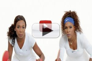 STAGE TUBE: Apple Promotes 'Do Not Disturb' with Serena & Venus Williams