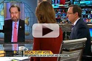 VIDEO: Rep. Steven LaTourette Chats Fiscal Cliff on CBS THIS MORNING