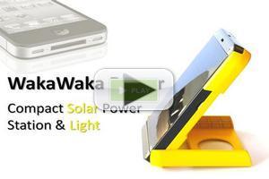 VIDEO WakaWaka Power: Compact Solar Power Station & Light Blasts Through Kickstarter Goals