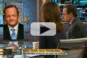 VIDEO: Robert Gibbs Chats 'Fiscal Cliff' on CBS THIS MORNING