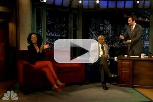 VIDEO: Jimmy Fallon's Partial COSBY SHOW Reunion