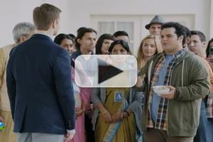 VIDEO: Josh Gad, Rory O'Malley Reunite on Set of NBC's 1600 PENN