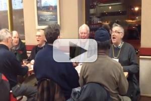 STAGE TUBE: Old Men Rock out to THE LION KING