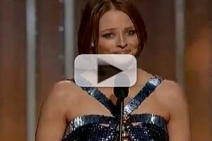 VIDEO: Jodie Foster's Emotional Speech at THE GOLDEN GLOBES
