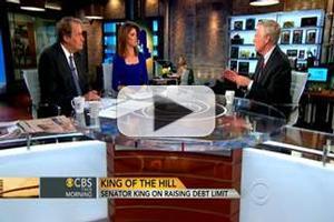 VIDEO: Sen. Angus King Talks Gun Control on CBS THIS MORNING