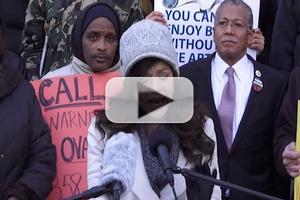 STAGE TUBE: Rosie Perez and More Protest Time Warner Cable: 'You Can't Enjoy Better Without the Arts'