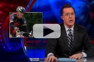 VIDEO: Comedy Central's STEPHEN COLBERT Talks Oprah's Armstrong Interview