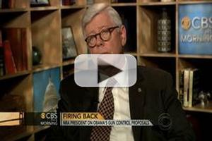 STAGE TUBE: NRA President David Keene Talks With CBS THIS MORNING