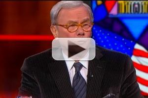 VIDEO: Tom Brokaw Discredits Calls for Obama Impeachment on COLBERT REPORT