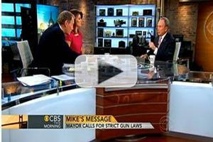 VIDEO: Mayor Bloomberg Talks Gun Control on CBS THIS MORNING