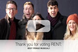BWW TV: The Cast And Crew Of RENT Say Thank You For The BWW:UK 2012 Awards!
