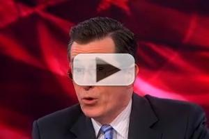 VIDEO: Check out Clips from Last Night's COLBERT REPORT on Comedy Central