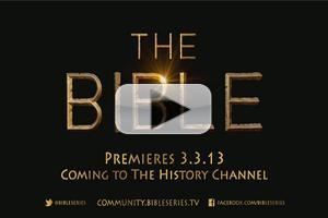 VIDEO: First Look - Trailer for The History Channel's BIBLE Series