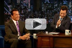 VIDEO: Arnold Schwarzenegger Visits NBC's JIMMY FALLON
