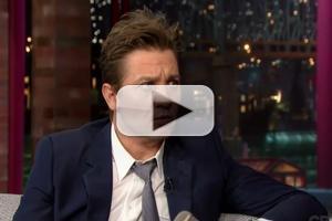 VIDEO: Jeremy Renner Talks House Flipping on DAVID LETTERMAN