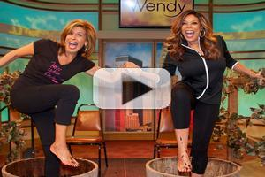 VIDEO: Hoda & Wendy Stomp Grapes on THE WENDY WILLIAMS SHOW