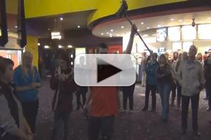 STAGE TUBE: New Venture Players' LES MISERABLES 'One Day More' Flashmob in Newport!