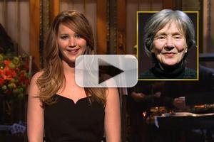 VIDEO: Jennifer Lawrence's SATURDAY NIGHT LIVE Opening Monologue!