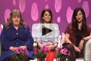 VIDEO: 'Girlfriend Talk Show' on Last Night's SNL