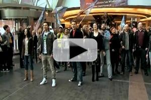 STAGE TUBE: Another LES MISERABLES 'One Day More' Flashmob - in Poland!