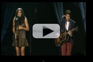 VIDEO: GLEE's Darren Criss, Amber Riley Perform at PRESIDENTIAL INAUGURATION Concert