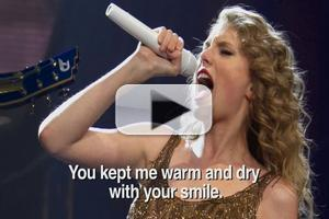 VIDEO: 'Taylor Swift' Debuts New Break Up Song on CONAN