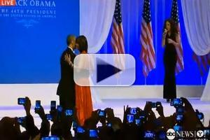 VIDEO: President Obama and First Lady Dance to Jennifer Hudson Singing 'Let's Stay Together'