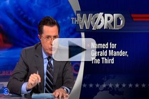 VIDEO: Colbert Talks Redrawing District Lines on Last Night's REPORT