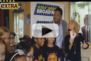 STAGE TUBE: Kelly Ripa & Michael Strahan Talk KIDS NIGHT ON BROADWAY