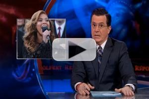VIDEO: COLBERT Tackles Beyonce's 'Lip-Gate' on Last Night's Show