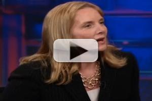 VIDEO: Former Fighter Pilot Missy Cummings Visits THE DAILY SHOW